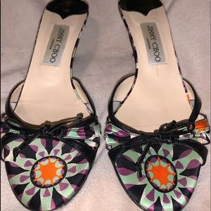 Jimmy Choo Excellent Condition Purple Sandals 38